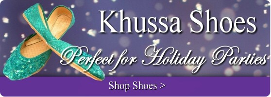 Buy wedding and bridesmaids khussa Indian shoes online.
