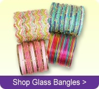 Buy Indian glass bangles online.