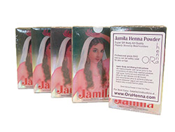 Authentic Jamila BAQ henna powder